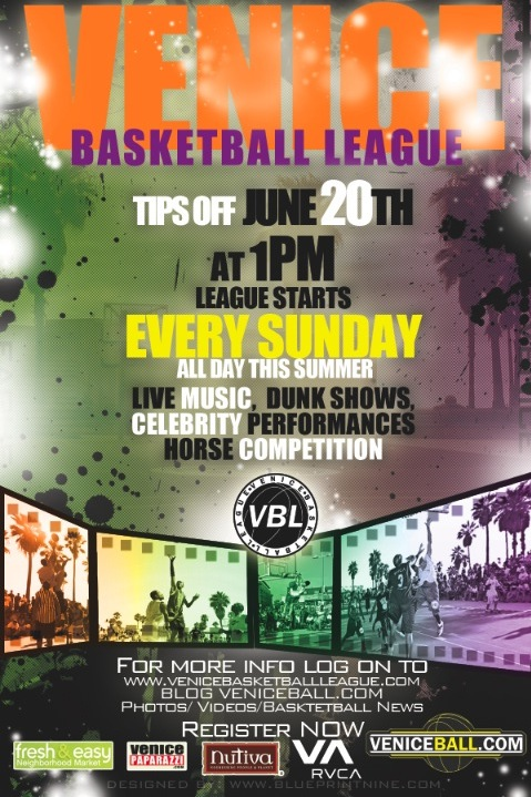 JUNE 20TH IS VBL OPENER… SAVE THE DATES