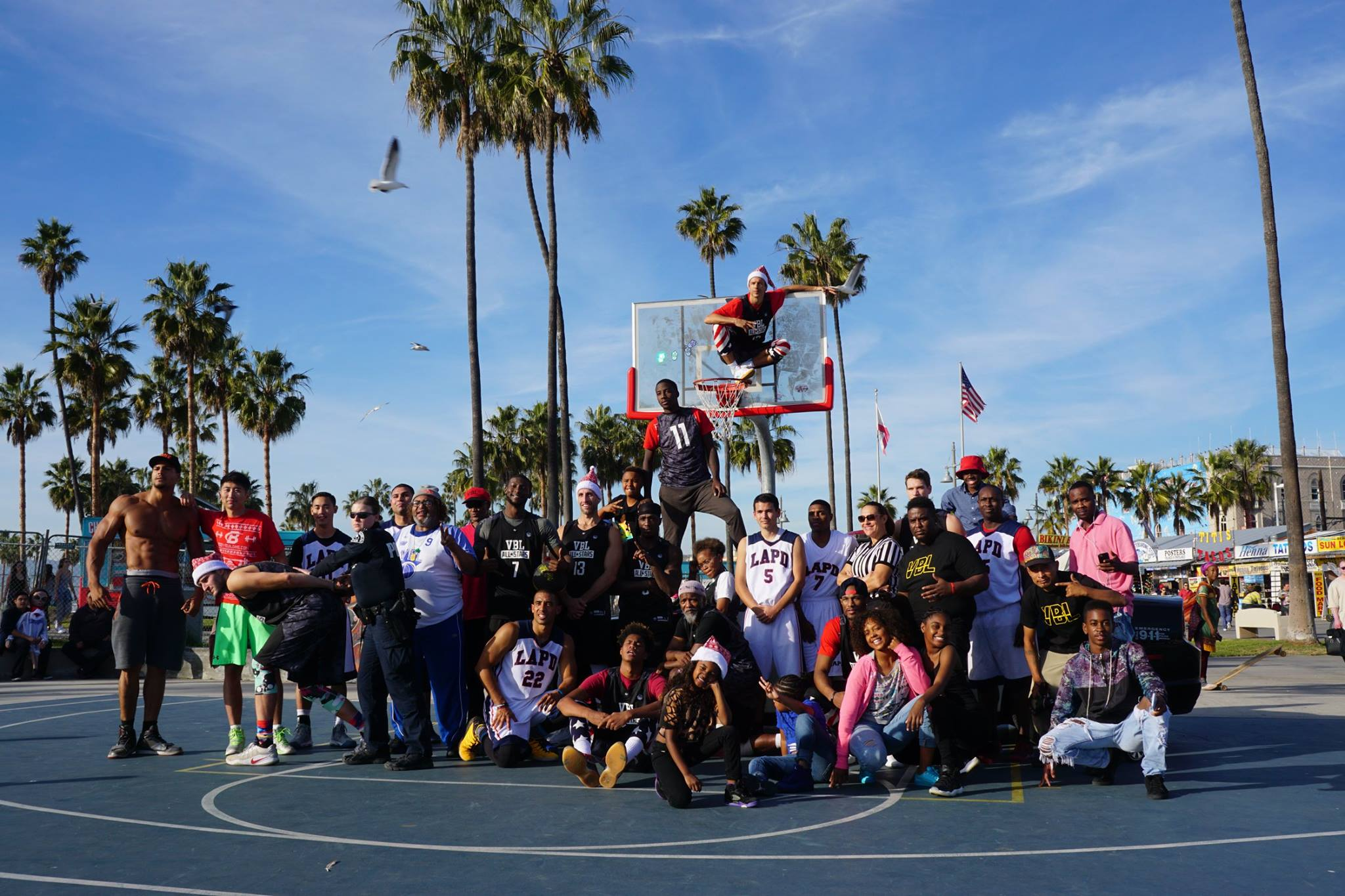 TOY DRIVE SEASON FROM VENICE TO INGLEWOOD NEXT UP SKID ROW