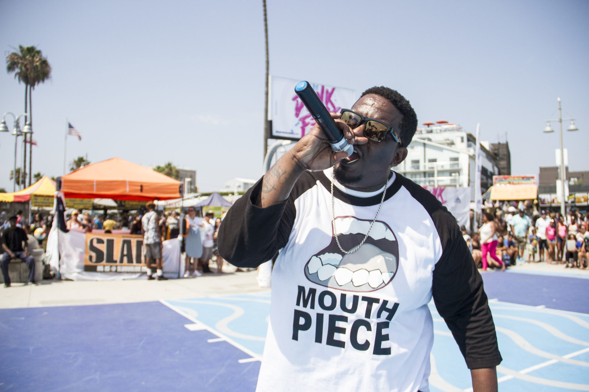 VBL Q&A of the Day: The Voice of Venice Beach AKA Mouthpiece