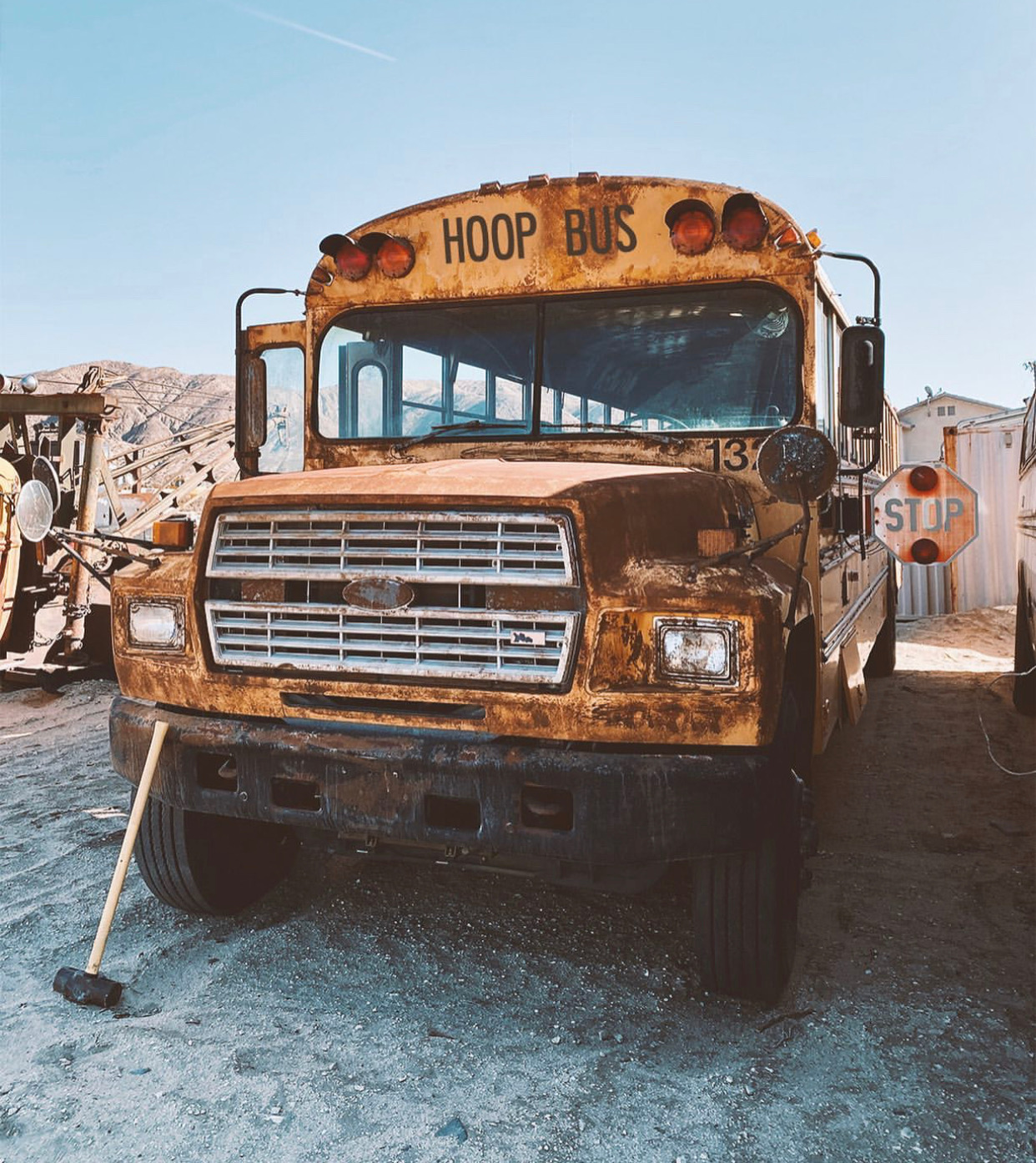 Hoop Bus: The First Ride