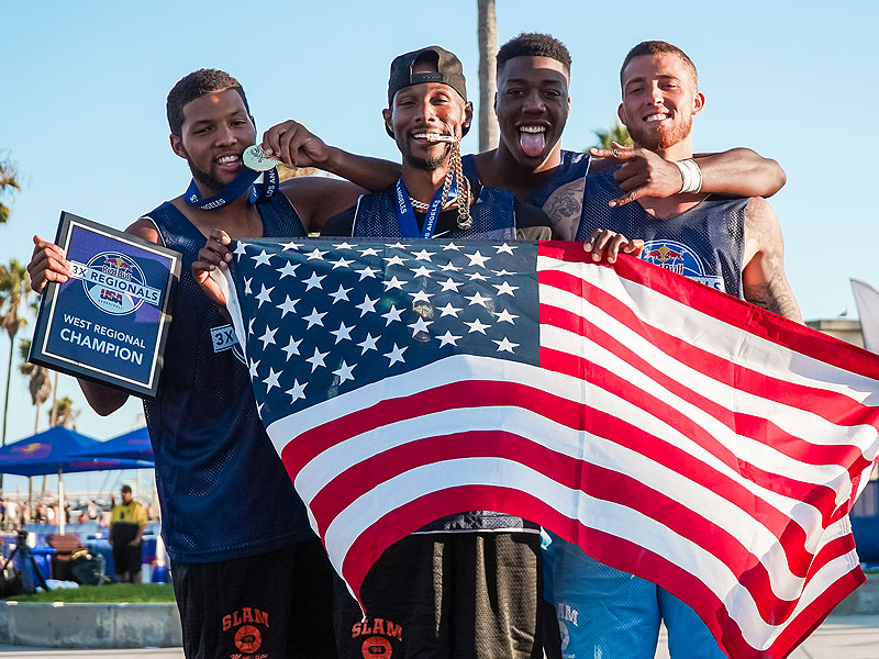 Los Angeles Teams Sweep Titles at Red Bull USA Basketball 3X West Regional on Venice Beach Courts