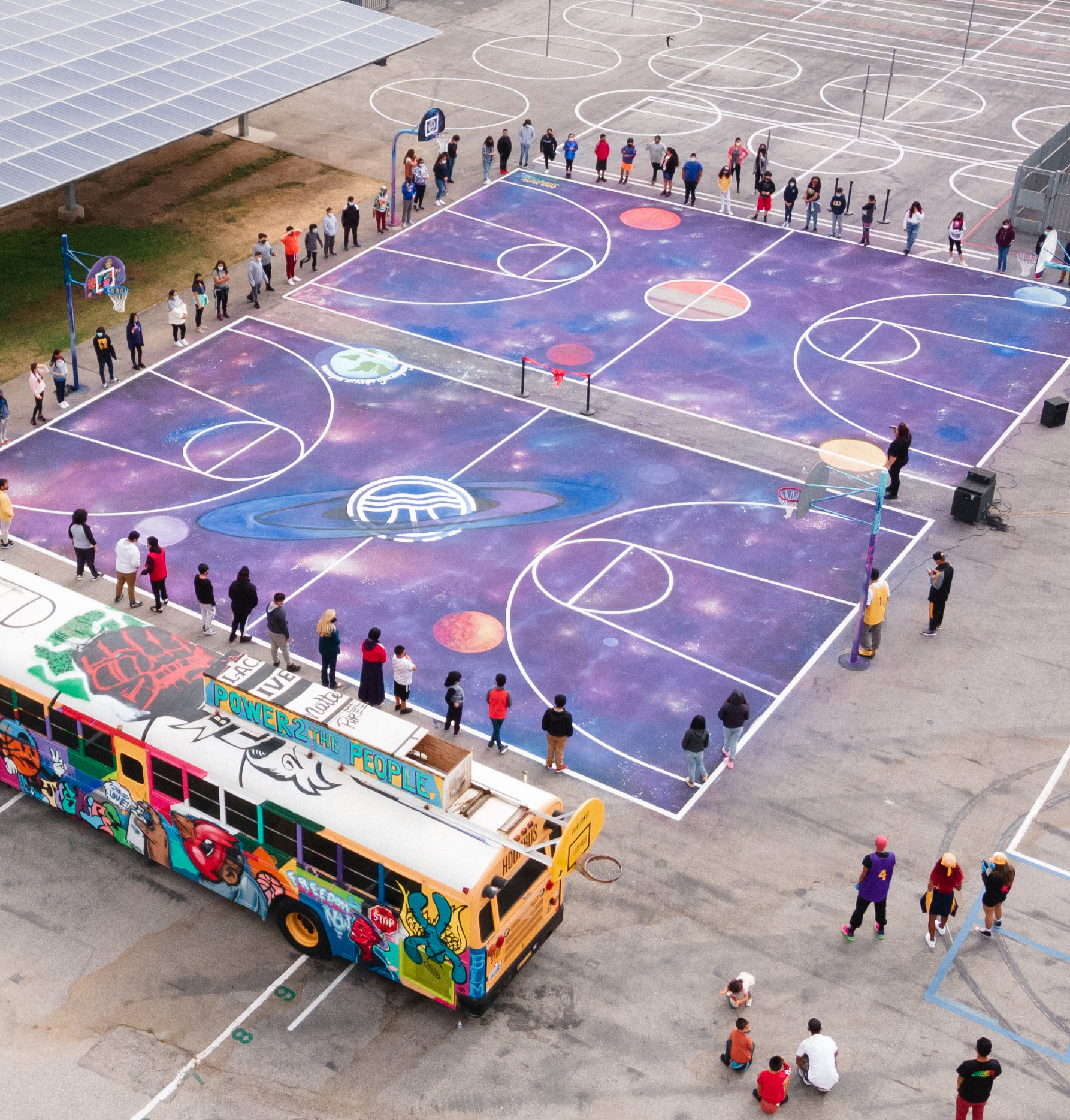 The Galaxy Court is Born