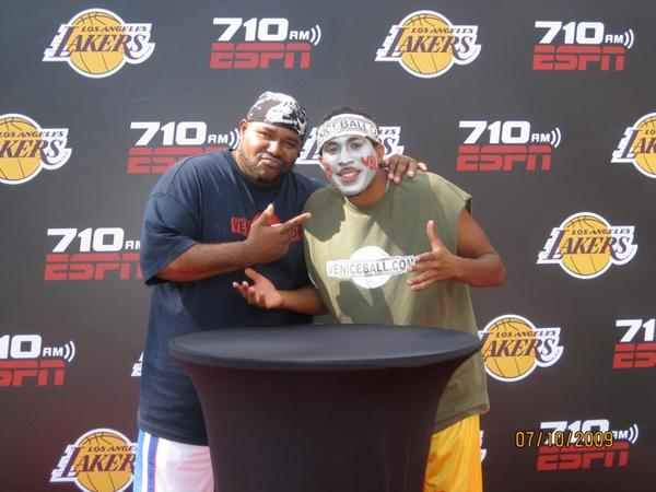 "Jude ""Hollywizzle"" Thomas aka ""The painted face"" is still BALLIN'"