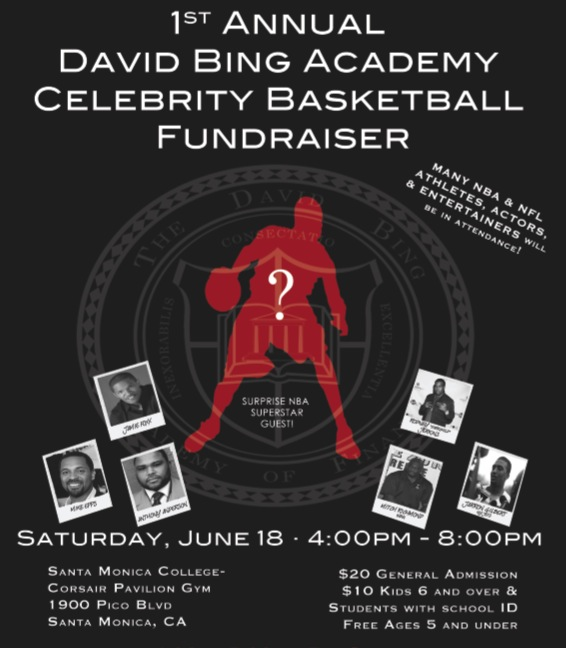 Celebrity game June 18th to support our Youth!