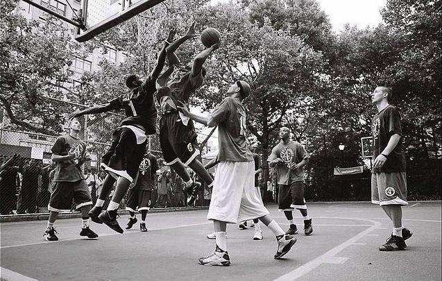 NYC still Standing. Mecca of Streetball
