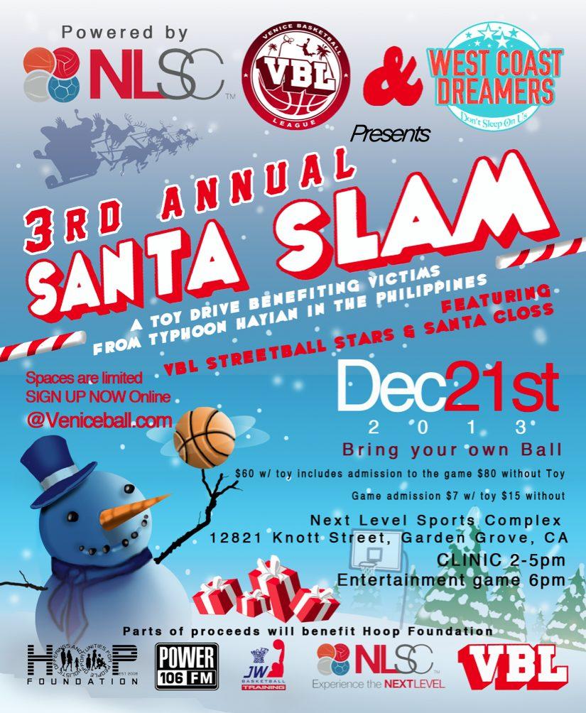 VBL Santa Slam Basketball Clinic