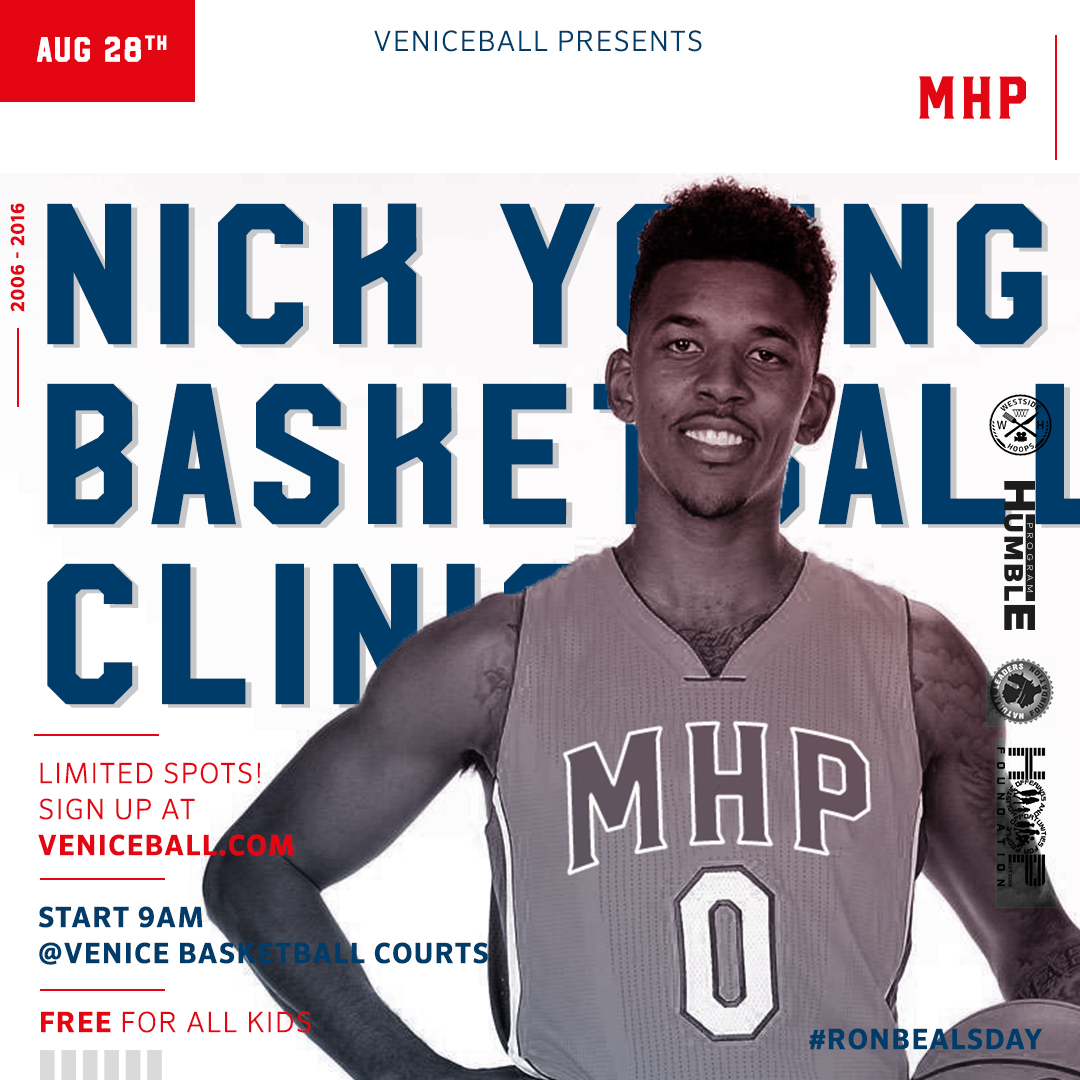 Nick Young Skills Academy Venice Basketball League KVBL