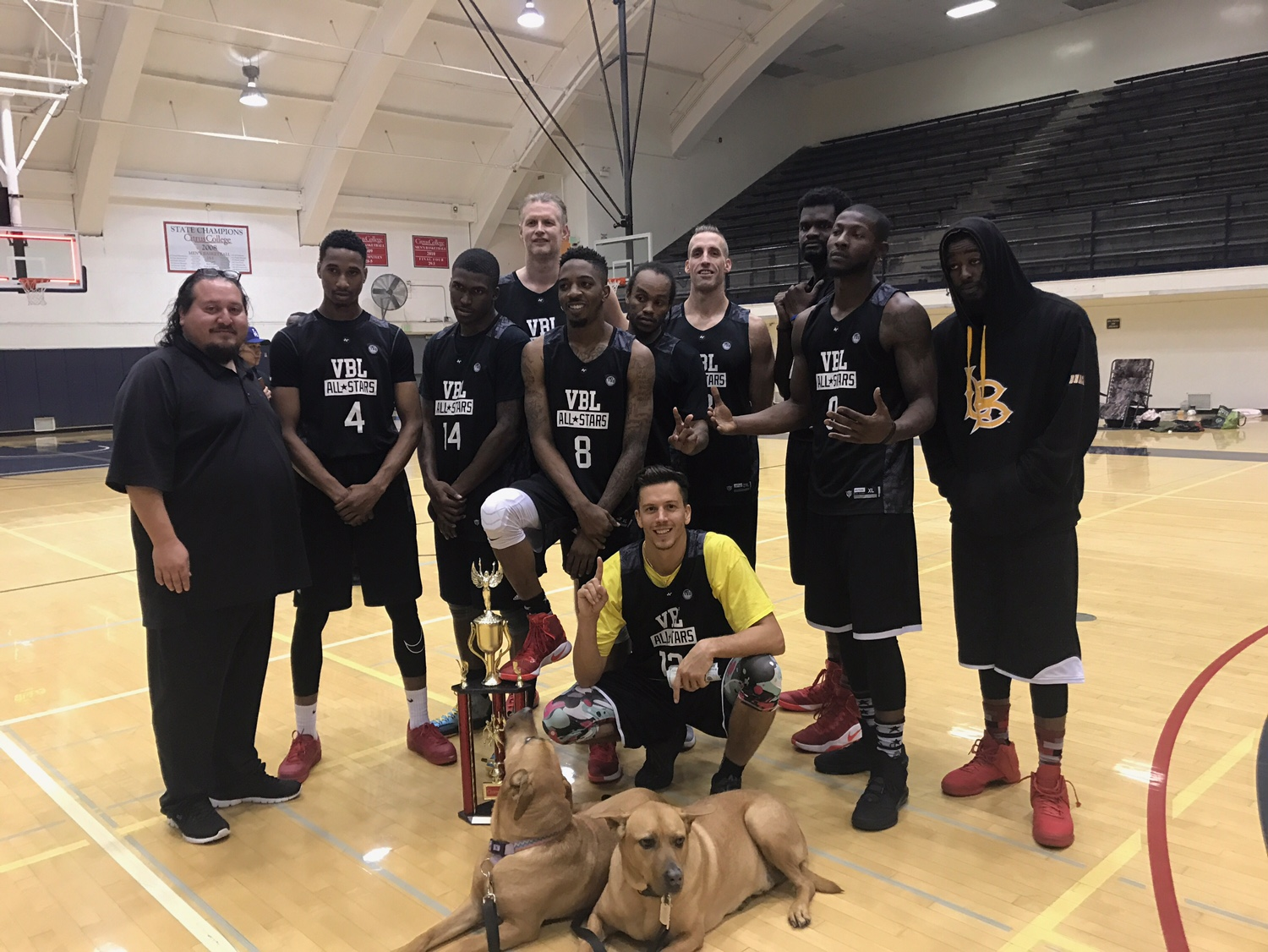 Another Championship weekend with our VBL ALL STAR FAMILY
