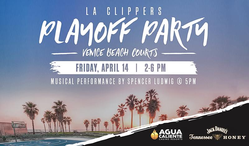 Clippers x VBL April 14th at Venice Beach