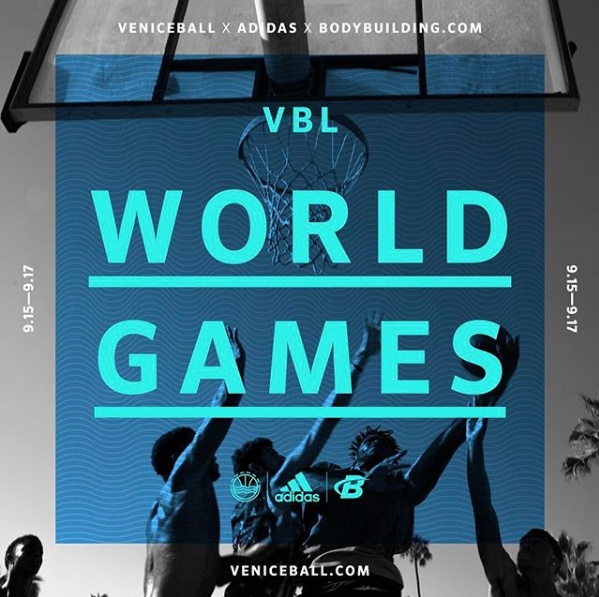 Veniceball presents the VBL World Games starting on Sept 15