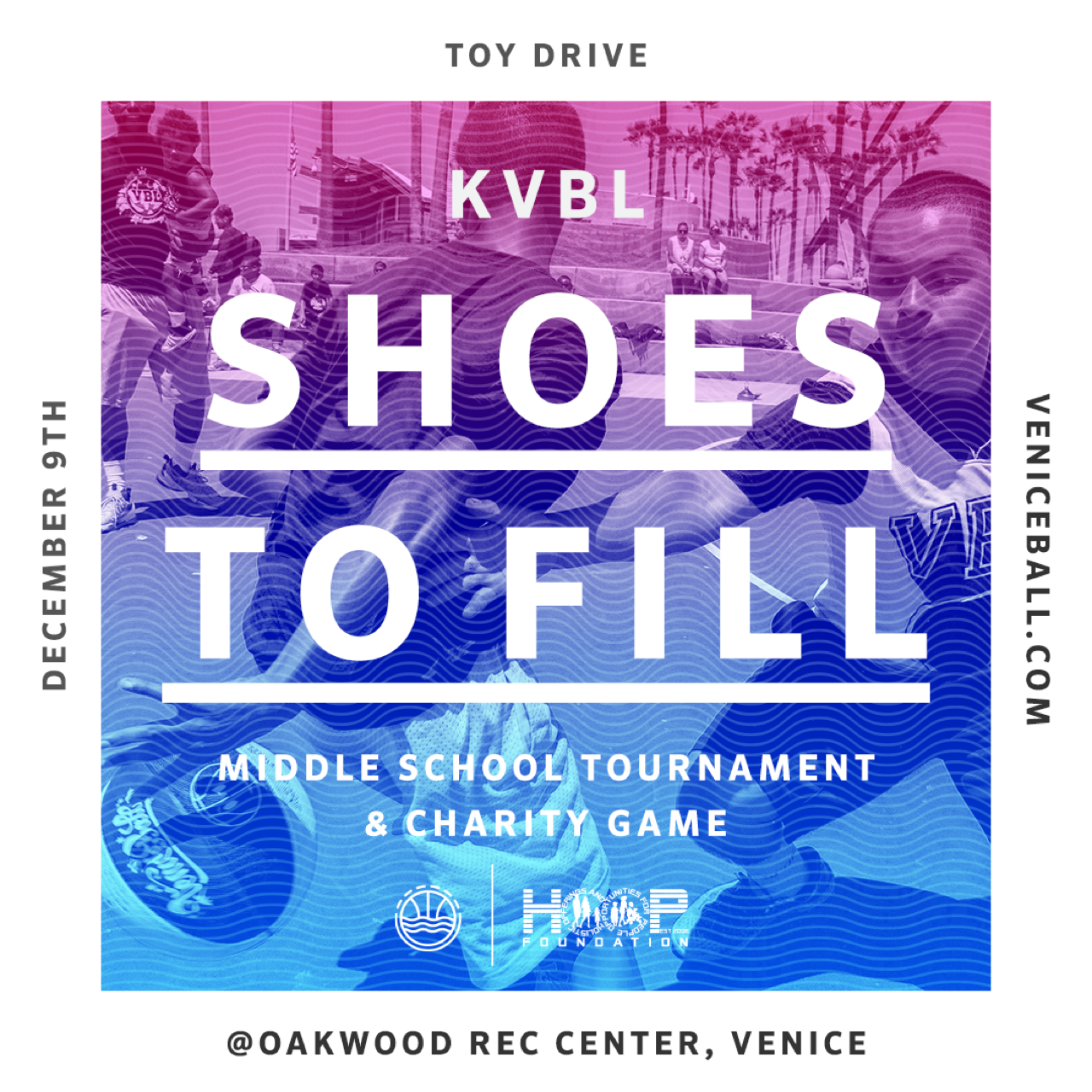 KVBL Shoes to Fill – Toy Drive 2017
