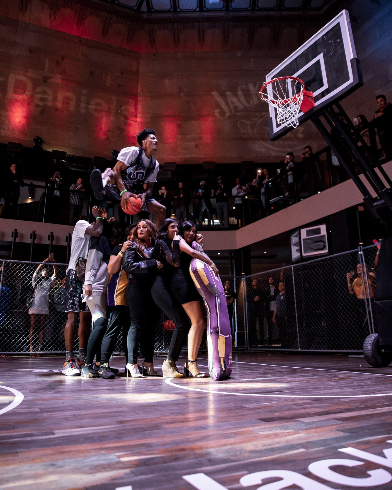 Turning nightclub into a Dunk Fest with Jack Daniels