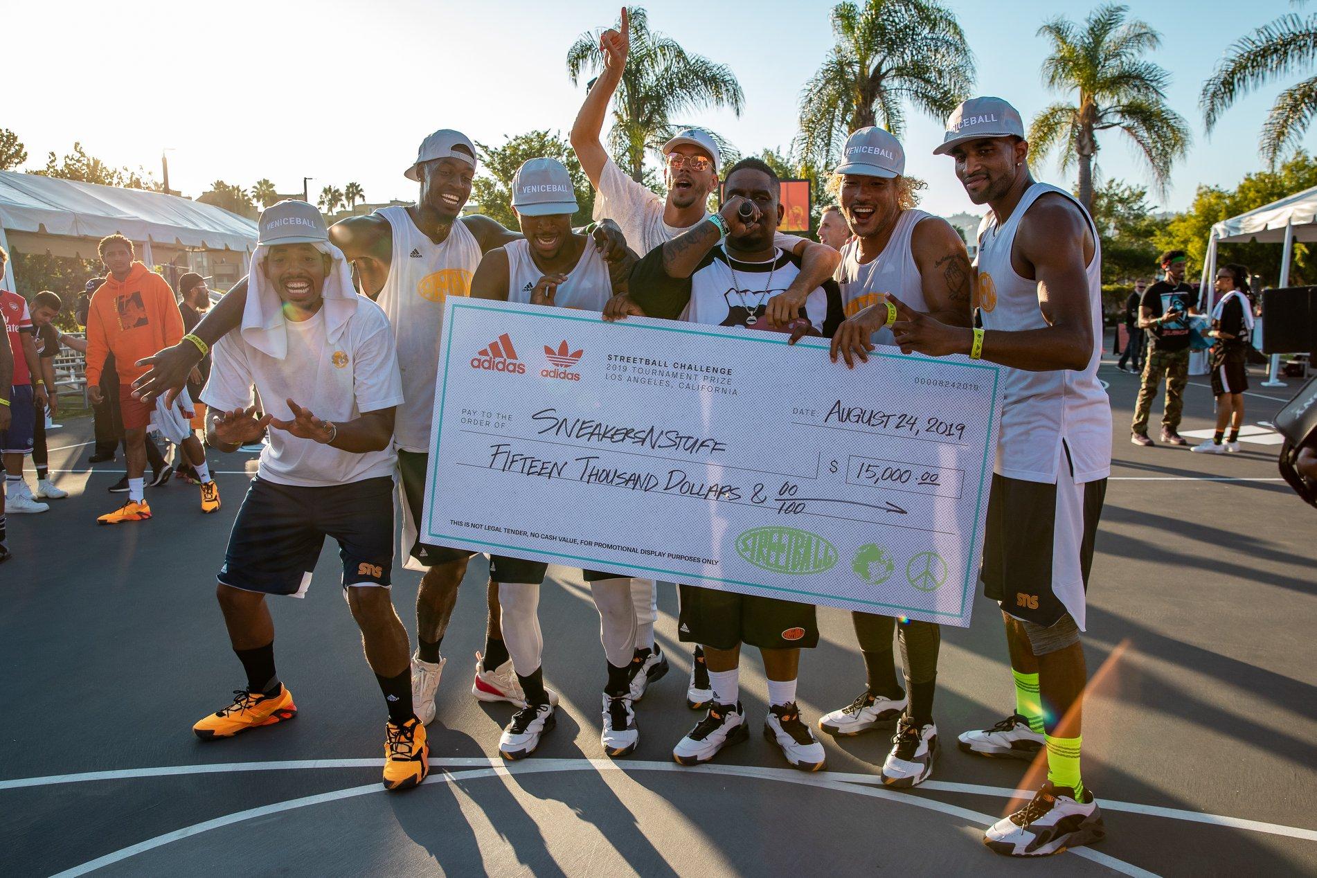 VBL x SNS Takeover Adidas Streetball challenge